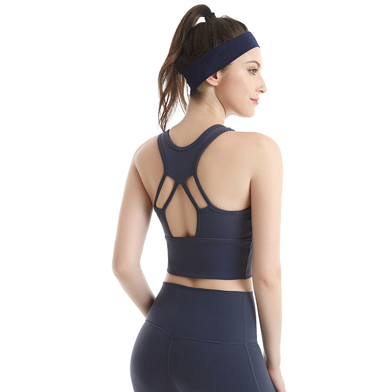 High Neck Performance Sports Bra
