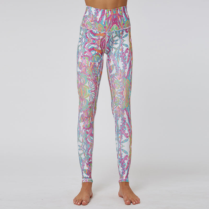 Printed High Power Workout Tracksuit