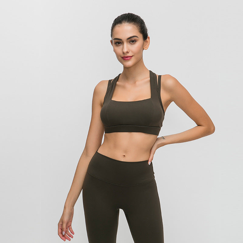 Lifting Full Support Racerback  Sports Bra