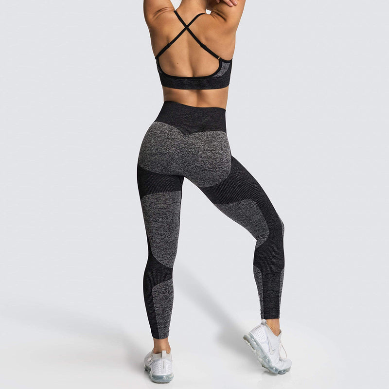 360-degree Movement Two-tone Workout Set