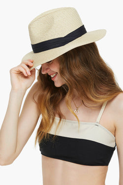 Short Brim Beach Sun Hat-Foldable & Packable