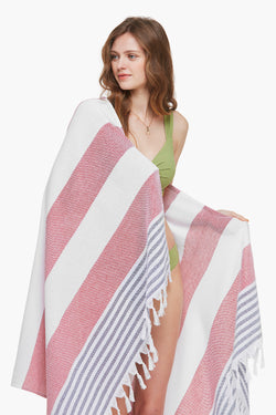 Pink Light-weight Beach Blanket/Towel