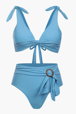 Sweet Knotted Bikini Set