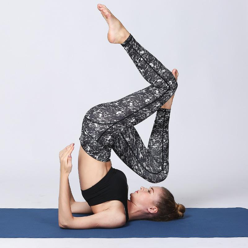 High Power Printed Yoga Legging