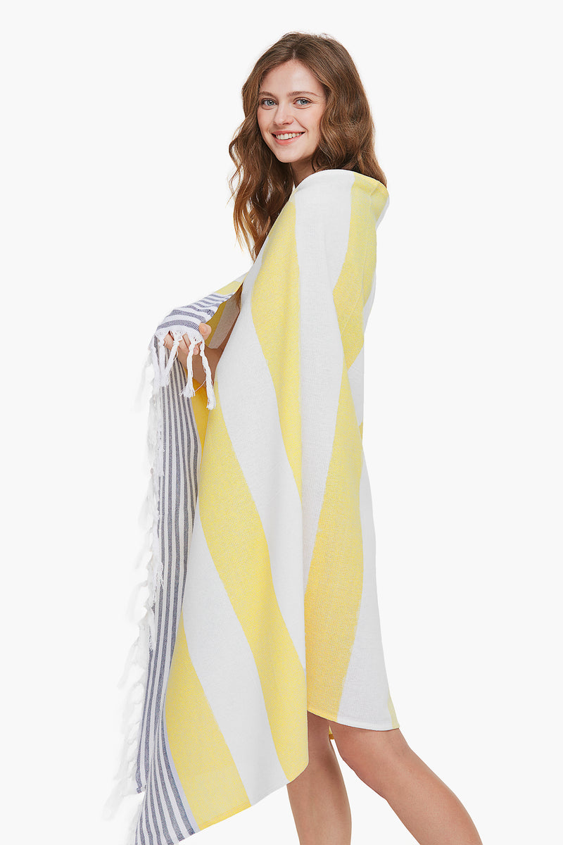 Yellow Light-weight Beach Blanket/Towel
