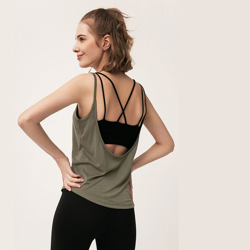 Free To Be Open Back Tank Top