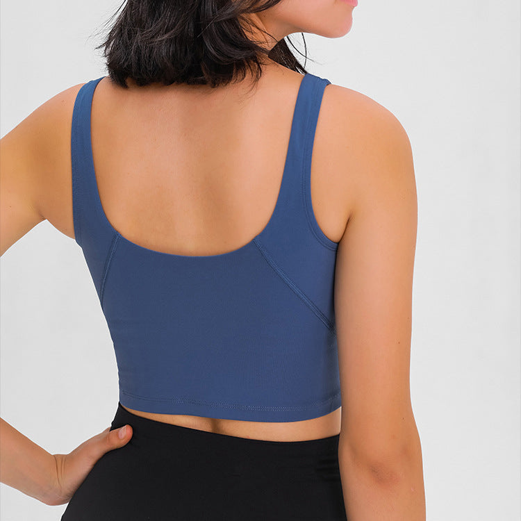 Like A Cloud Plunging Neck Sports Bra