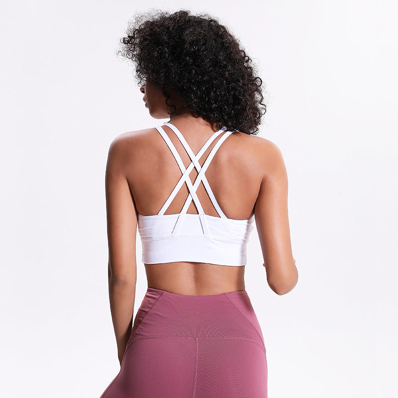 Ride With Me Yoga Sports Bra