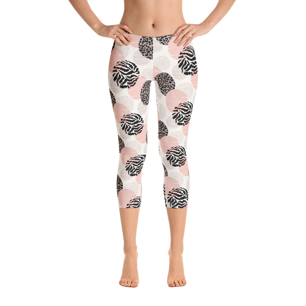 """Nyabondo"" Cropped Leggings"