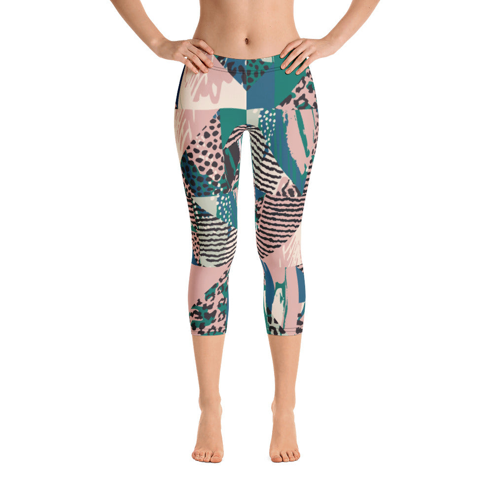"""Makawo"" Cropped Leggings"