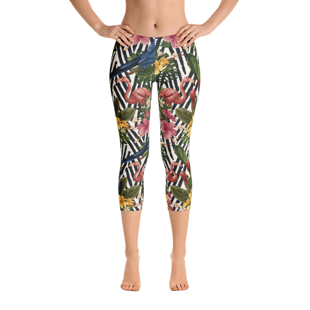 """Bora Bora"" Cropped Leggings"