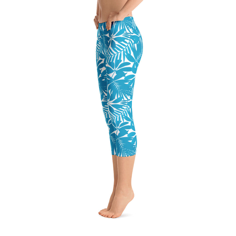 """Tahiti"" Cropped Leggings"