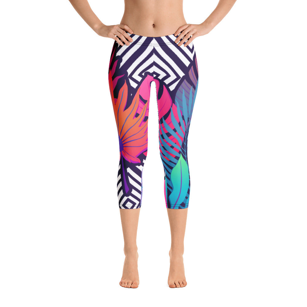 """Mokuleia"" Cropped Leggings"