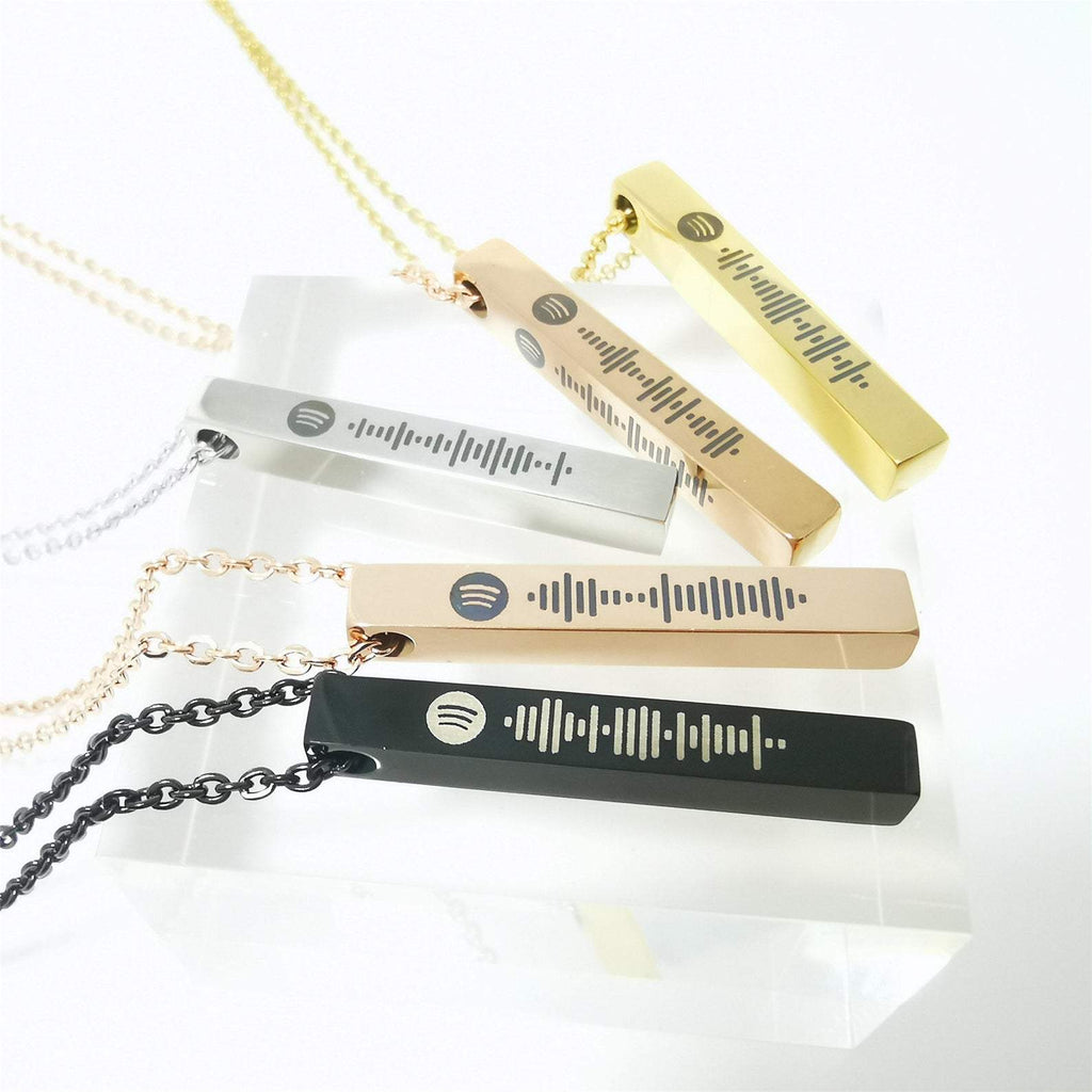 BeSpecifik Song Bar Necklace