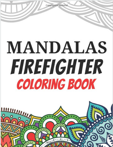 Mandalas Adult Firefighter Coloring Book