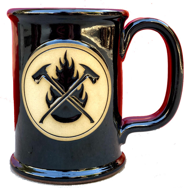 Black Flame & Axes Mugs