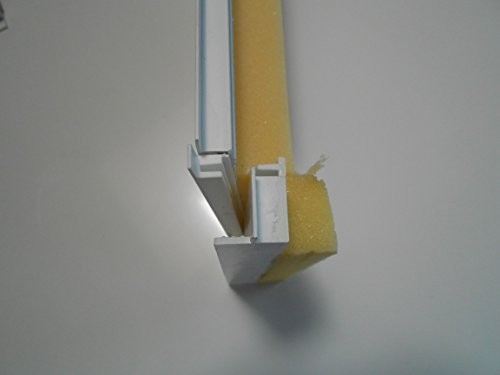 Rolladendeckel 180mm mit Adapter 1 Meter