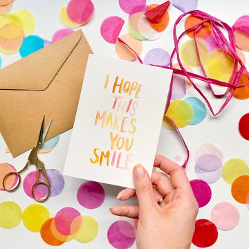 I Hope This Makes You Smile Card