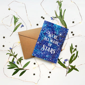 Made of Stars Card