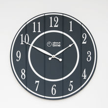 Load image into Gallery viewer, Large Wooden Wall Clock in Black - Ask about personalisation