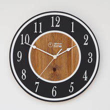 Load image into Gallery viewer, Medium Wooden Clock in Black - Ask about personalisation