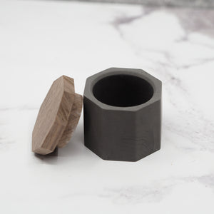Octagonal Concrete Mini Pot