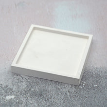 Load image into Gallery viewer, Square Concrete Jewellery/Planter Tray