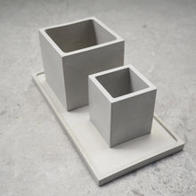 Load image into Gallery viewer, Rectangular Concrete Jewellery/Planter Tray