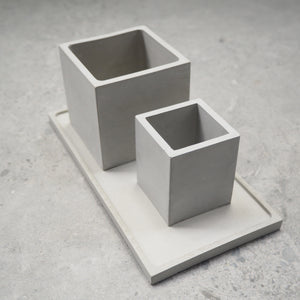 Rectangular Concrete Jewellery/Planter Tray