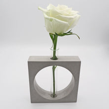 Load image into Gallery viewer, Test Tube Concrete Vase