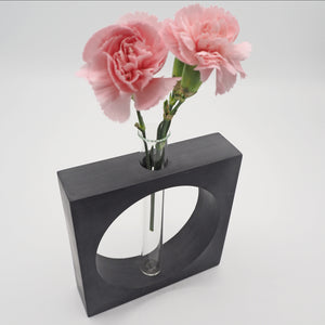 Test Tube Concrete Vase