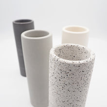 Load image into Gallery viewer, Tall Cylindrical Concrete Vase