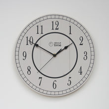 Load image into Gallery viewer, Medium Wooden Clock in Taupe