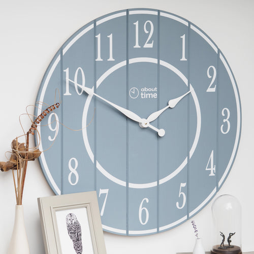 Extra Large Wooden Wall Clock - Ask about personalisation