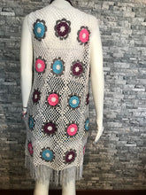 Load image into Gallery viewer, CROCHET WOMEN TUNIC-PAREO, DRESS, HANDMADE