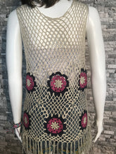 Load image into Gallery viewer, HANDMADE CROCHET VEST