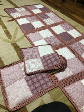 Load image into Gallery viewer, BLANKET&PILOW PATCHWORK, HANDMADE