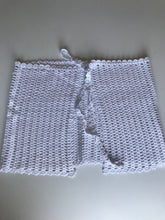 Load image into Gallery viewer, HANDMADE WHITE  CROCHET PAREO