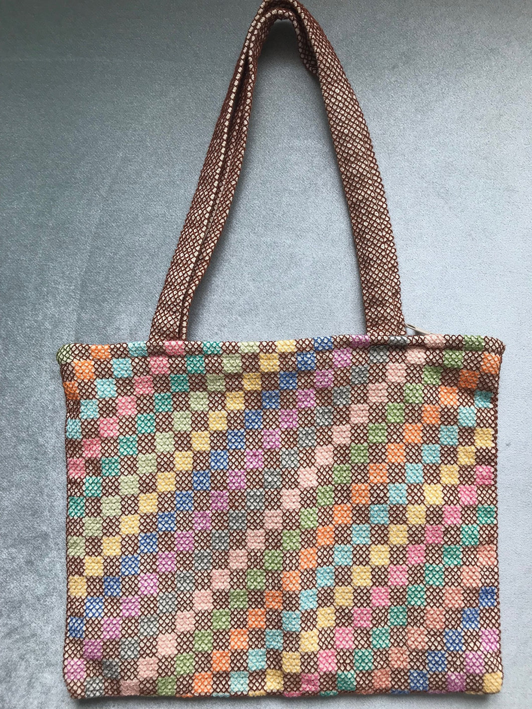 HANDMADE CANVAS BAG, COLOURFULL