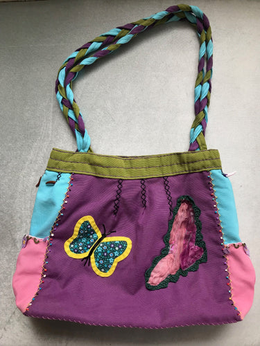 BAG, BOHO, BUTTERFLY HANDMADE UNIQUE