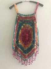 Load image into Gallery viewer, HANDMADE VEST FOR GIRLS AND WOMEN. CROCHET