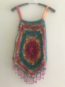HANDMADE VEST FOR GIRLS AND WOMEN. CROCHET