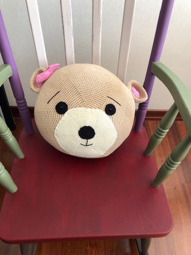 PILOW BEAR FOR KIDS, HANDMADE, PRETTY