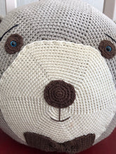 Load image into Gallery viewer, PILOW  BEAR CHARACTER, HANDMADE, PRETTY