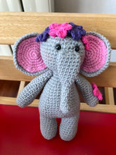 Load image into Gallery viewer, AMIGURIMI DOLLS, ELEPHANT HANDMADE