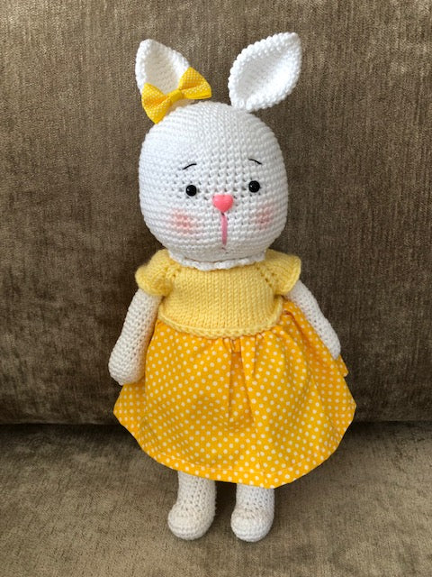 AMIGURIMI DOLLS RABBIT HANDMADE
