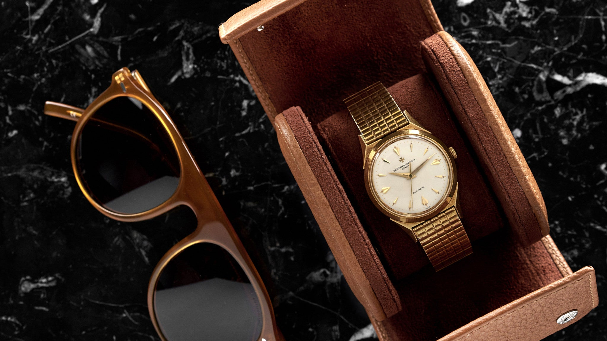 The dress journal of vision - 1959 Vacheron Constantin Dress Watch Reference 6073 With Bracelet