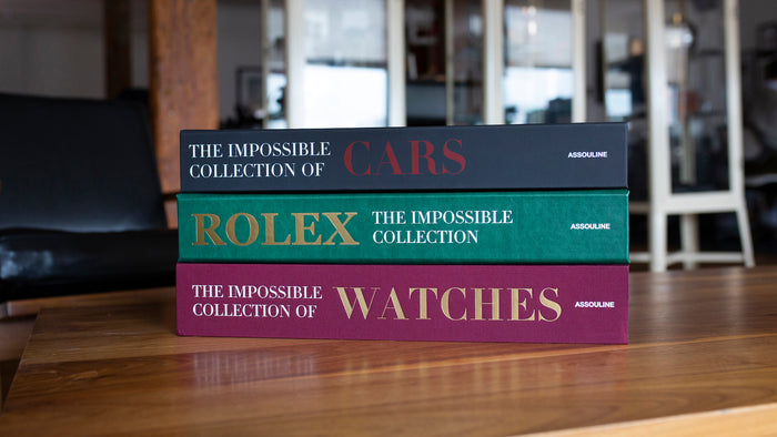 Image for: Introducing: The Ultimate Collection Books From Assouline, Including The New 'Rolex: The Impossible Collection'