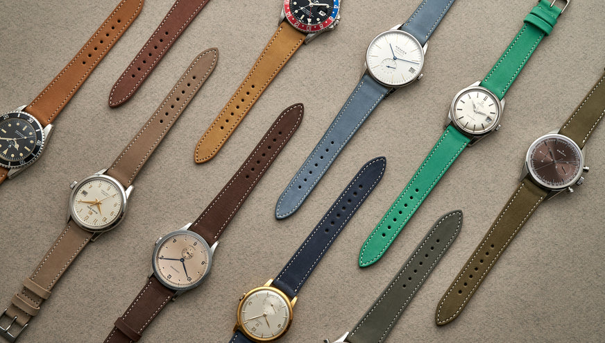 A Guide to the HODINKEE Shop Strap Collection