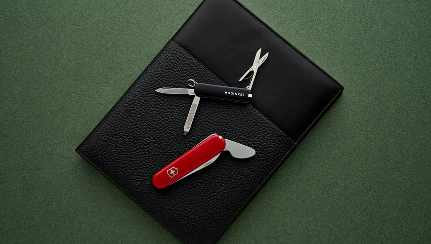 The Victorinox For HODINKEE Swiss Army Knives